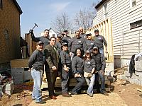 Habitat for Humanity Build - Newark NJ 2009