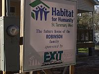 Habitat for Humanity Build - Covington LA 2007