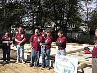 Habitat for Humanity Build - Reading MA 2006