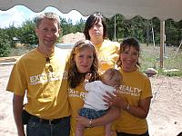 Habitat for Humanity Build - Traverse City MI 2008